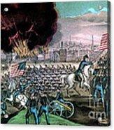American Civil War, Capture Of Atlanta Acrylic Print