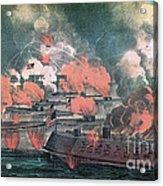 American Civil War, Great Fight Acrylic Print
