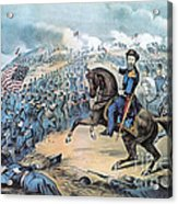 American Civil War, Storming Of Fort Acrylic Print