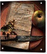 American Cookery 1790 Acrylic Print