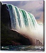 American Falls Power Acrylic Print
