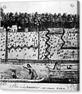 American Farm: Plan, 1793 Acrylic Print