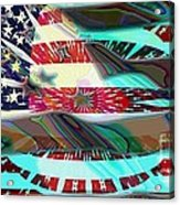 American Flag 2 Acrylic Print