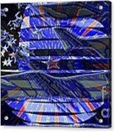 American Flag 3 Acrylic Print