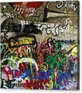 American Graffiti 17- Jake From State Farm Acrylic Print