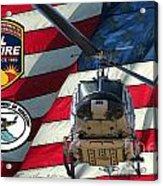 American Hero 1 Acrylic Print