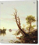 American Lake Scene Acrylic Print