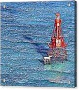 American Shoal Lighthouse Acrylic Print