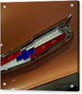 Chevrolet Hood Emblem Acrylic Print