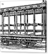 American: Streetcar, 1880s Acrylic Print by Granger