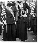 American Suffragists Acrylic Print