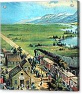 American Transcontinental Railroad Acrylic Print