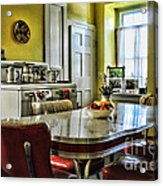 Americana - 1950 Kitchen - 1950s - Retro Kitchen Acrylic Print