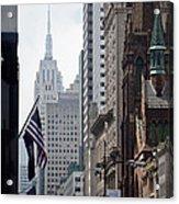 Americana Acrylic Print by Steven Gray