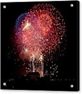 America's Celebration Acrylic Print by David Hahn