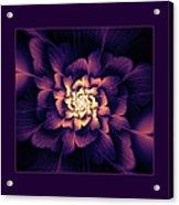 Amethyst Acrylic Print