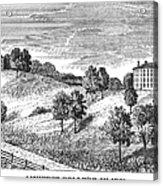Amherst College, 1821 Acrylic Print