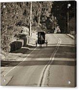 Amish Buggy - Lancaster County Pa Acrylic Print