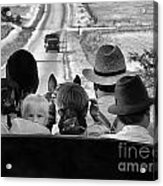 Amish Family Outing II Acrylic Print