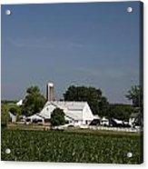 Amish Farm Acrylic Print