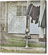 Amish Pump And Cup Acrylic Print