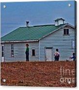 Amish School Acrylic Print