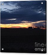 Amish Sunrise Acrylic Print