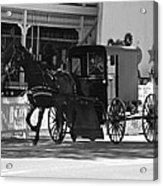 Amish Transportation Acrylic Print