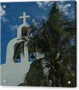 Among The Palms Acrylic Print