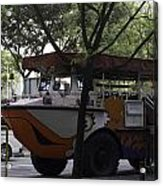 Amphibious Vehicle Used For Ducktour In Singapore Acrylic Print