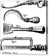 Amputation Instruments, 1772 Acrylic Print