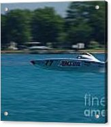 Amsoil Offshore Racer Acrylic Print