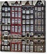 Amsterdam Reflections Hdr Acrylic Print