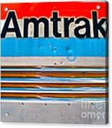 Amtrak Train Acrylic Print