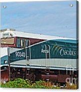 Amtraks Cascade Engine Acrylic Print