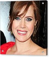 Amy Adams At Arrivals For Leap Year Acrylic Print by Everett
