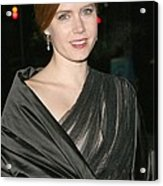 Amy Adams At Arrivals For The 2008 Acrylic Print