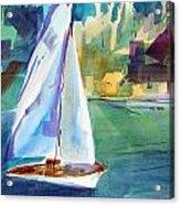 Amy's Boat. Acrylic Print