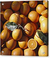 An Abundance Of Oranges Acrylic Print