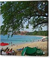 An Active Sosua Beach In Dr Acrylic Print