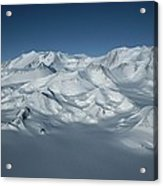 An Aerial View Of Mount Vinson Acrylic Print
