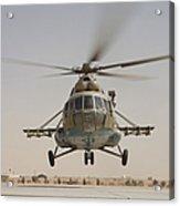 An Afghan Air Force Russian Mil Mi-17 Acrylic Print