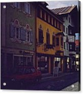 An Afternoon In Germany  Acrylic Print