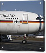 An Airbus 340 Acting As Air Force One Acrylic Print
