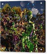 An Alien Being Blending Acrylic Print