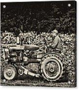 An American Farmer Acrylic Print