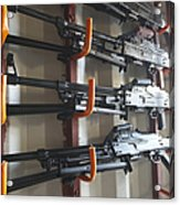 An Armory Of Pk Machine Guns Designed Acrylic Print