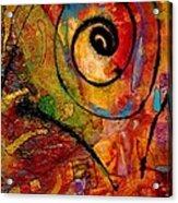 An Artist In Wonderland Acrylic Print
