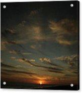 An Atlantic Sunset Acrylic Print
