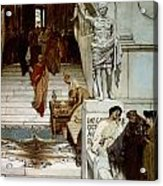 An Audience At Agrippa's Acrylic Print